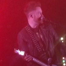 "This is David Cook. He has an amazing voice, and his new album ""Digital Vein"" is out now."
