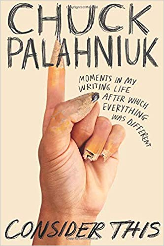 On Chuck Palahniuk, with love.